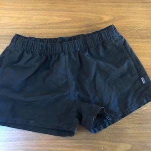 Patagonia black shorts
